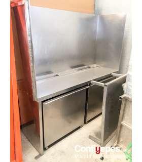 Mesa acero Limpia bandejas ConfiYepes - 2