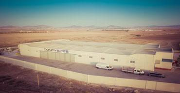 Vista area de la sede de Confiyepes