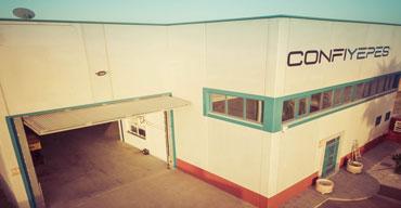 Vista frontal de la sede de Confiyepes